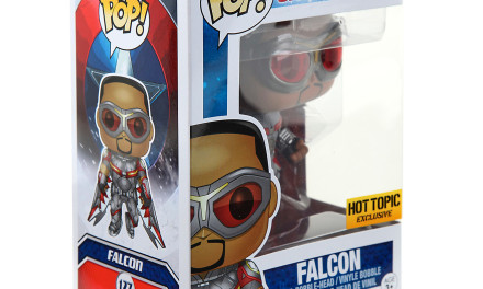 New Hot Topic Exclusive Captain America: Civil War Falcon Pop! Vinyl Now Available Online
