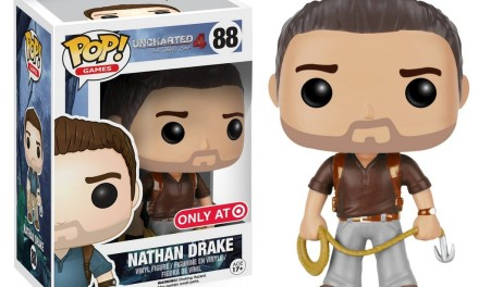 A look at the New Target Exclusive Uncharted 4 Nathan Drake Pop! Vinyl
