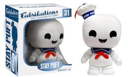 Previews of the new Ghostbusters Fabrikation and Pocket Pop! Keychains