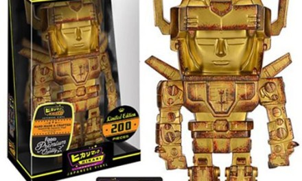 New Limited Edition Solar Gold Voltron Hikari Sofubi Vinyl Coming Soon!
