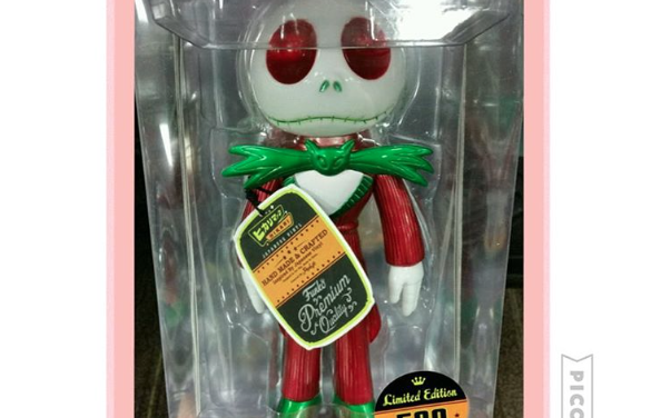 Preview of the Toy Tokyo Exclusive Christmas Jack Skellington Hikari