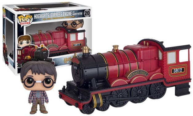 Previews of the new Harry Potter Hogwarts Express Pop! Ride Series