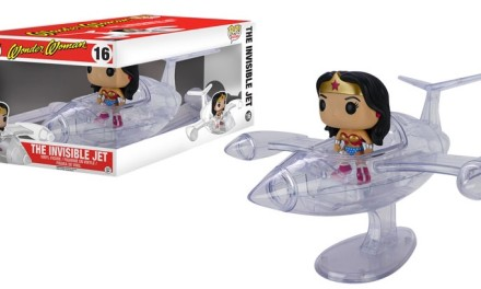 New Wonder Woman Invisible Jet Pop! Rides to be Released in May