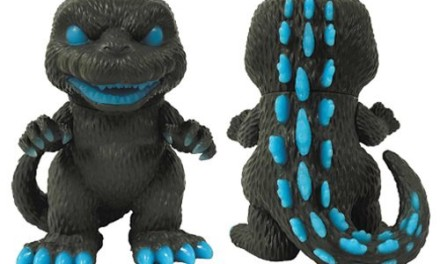 Preview of the new Previews Exclusive 6-Inch Godzilla Atomic Breath GITD Pop! Vinyl Figure