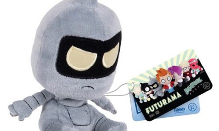 Previews of the new Futurama Mopeez Plush Collectibles