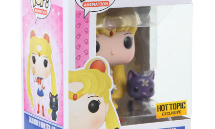 Hot Topic Exclusive Sailor Moon Moon Stick and Luna Pop! Vinyl Available Online