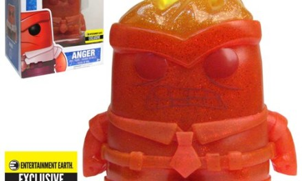 New Entertainment Earth Exclusive Inside Out Crystal Anger Pop! Vinyl Figure Coming Soon!