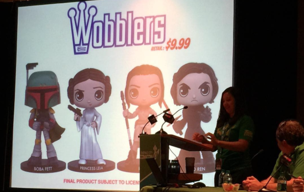 Newly Designed Star Wars Wacky Wobblers Coming Soon!