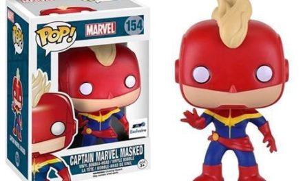 New GTS Exclusive Masked Captain Marvel Pop! Vinyl Coming Soon!