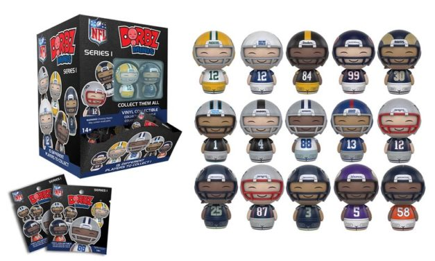 A Look at the Upcoming NFL Mini Dorbz Figures