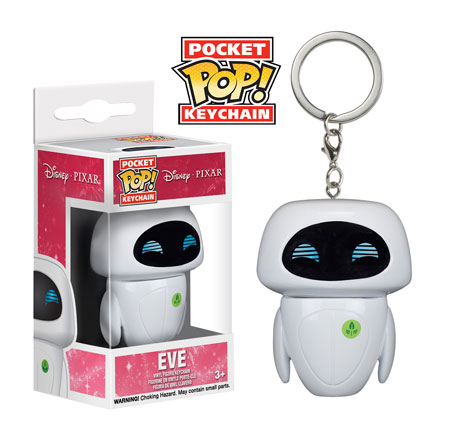 New Wall-E and Eve Pocket Pop! Keychains Coming Soon!