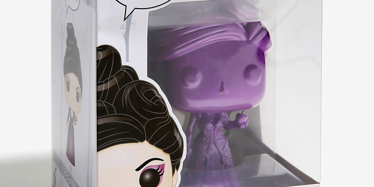 Closer Look at the new BoxLunch Exclusive Once Upon A Time Funko Regina Pop! Vinyl