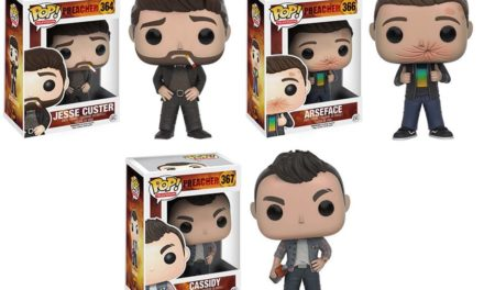Previews and Pre-order Info for the new Preacher Pop! Vinyls
