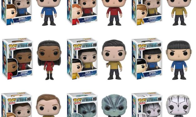 New Star Trek Beyond Pop! Vinyls Coming Soon!