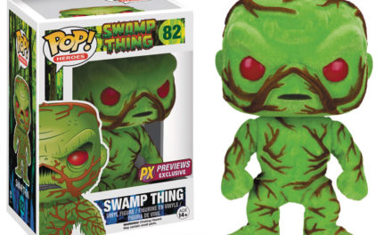Preview of the Upcoming SDCC Previews Exclusive Flocked Swamp Thing