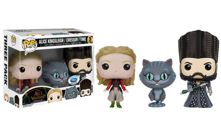 New UK and Europe Disney Store Exclusive Alice Through the Looking Glass Pop! Vinyl 3-Pack Now Available