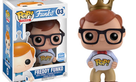 A Look at the new Freddy Funko with Nerd Glasses Pop! Vinyl