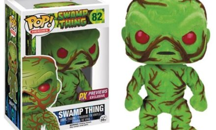2016 SDCC Exclusive Scented Flocked Swamp Thing Pop! Vinyl Now Available for Pre-order!