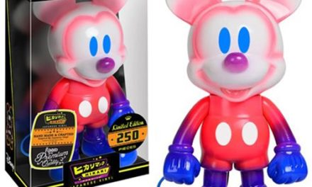 Preview of the new Mickey Mouse Snow Cone Hikari Sofubi Vinyl Figure
