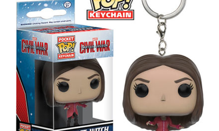 Preview of the new Captain America: Civil War Scarlet Witch Pocket Pop! Keychain