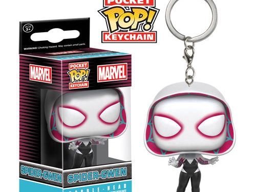 New Pac-Man, Spider Gwen and Pocahontas Pocket Pop! Keychains Coming Soon!