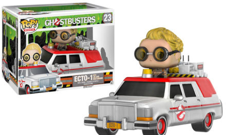 New Ghostbusters 2016 Ecto-1 with Jillian Holtzmann Pop! Coming Soon!
