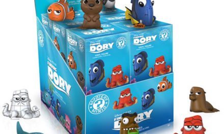 Previews of the new Finding Dory Pop! Vinyls and Mystery Mini Series