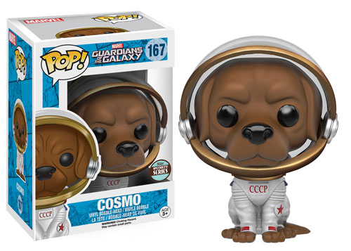 Guardians of the Galaxy Cosmo Pop! Vinyl & Howard the Duck Dorbz Revealed!