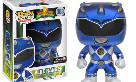 New Gamestop Exclusive Metallic Blue Ranger Now Available for Pre-order