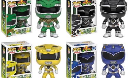 New Power Rangers Pop! Vinyls to be Released in August