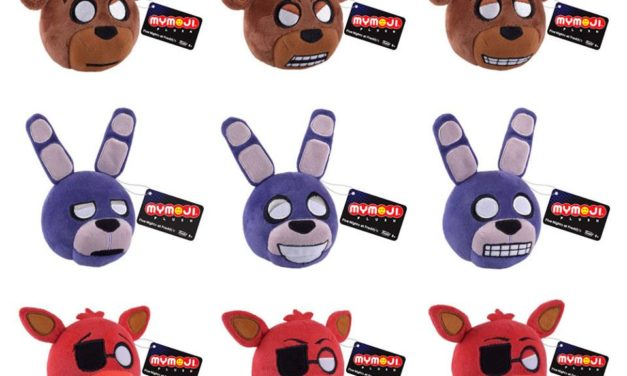 New Five Nights at Freddy's Mymoji Plush and Keychains from Funko Coming Soon!