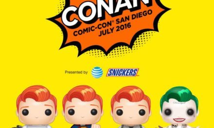 Previews of the Upcoming SDCC Conan Pop! Vinyls