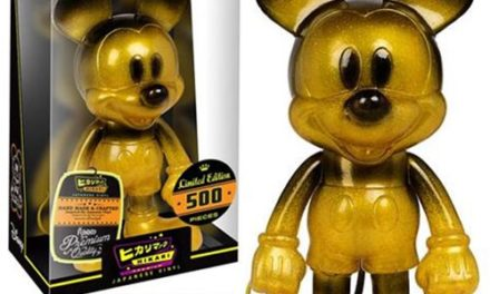 Preview of the New Mickey Mouse Black and Gold Hikari Sofubi Vinyl Figure