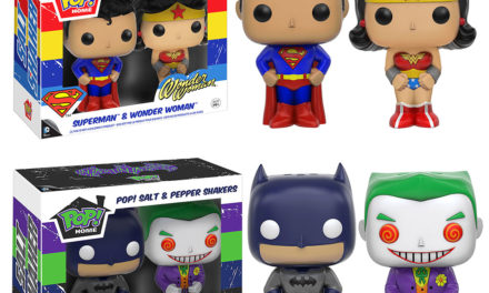 New Pop! Home DC Comics Salt & Pepper Shakers and Tumblers Coming Soon!