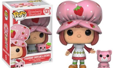 Previews and pre-order info for the new Strawberry Shortcake Pop! Vinyls!