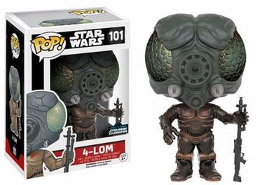 Four New Exclusive Pop! Vinyls to be released at Star Wars Celebration Europe 2016