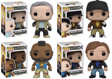 New A-Team Pop! Vinyls and A-Team Van Pop! Ride to be released very soon!