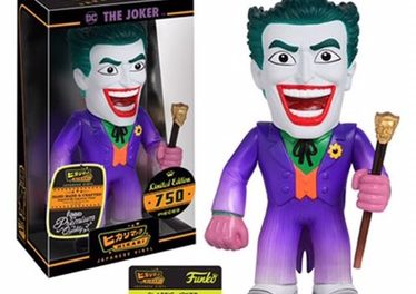 Preview and Pre-order info for the new Batman Classic Joker Hikari Sofubi Vinyl