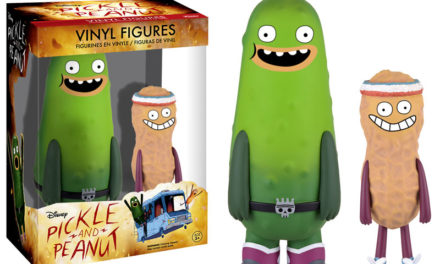 Preview of the new Disney's Pickle and Peanut Figure Set by Funko