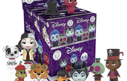 New Disney Villains Mystery Minis to be Released in September