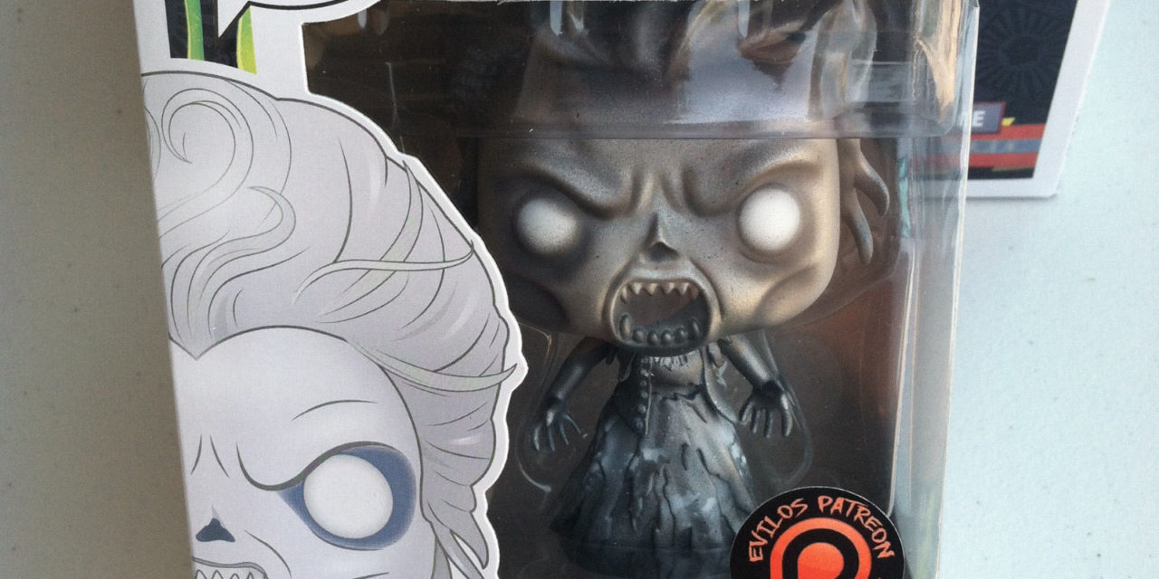 New Custom Ghostbusters Silver Gertrude Pop! Vinyl by Evilos to benefit St. Judes