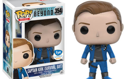 New FYE Exclusive Star Trek Beyond Captain Kirk Survival Suit Pop! Vinyl Now Available for Pre-order