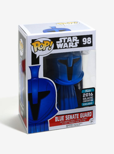 "New ""2016 Summer Convention Exclusive"" Blue Senate Guard Pop! Vinyl Now Available Online"