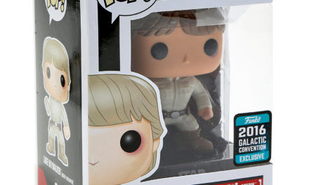 """New """"2016 Galactic Convention"""" Exclusive Luke Skywalker Pop! Vinyl Now Available"""
