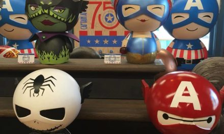 Previews of the Captain America's 75th Anniversary Operation: ReDorbz Customs at SDCC