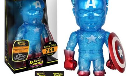 New Captain America True Blue Hikari Vinyl Figure Now Available for Pre-order