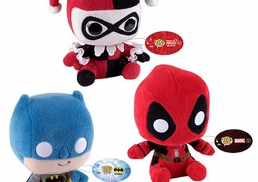 New Marvel and DC Comics Plush by Funko Coming Soon!