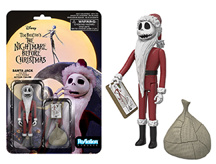 New Nightmare Before Christmas ReAction Figures to be released in August