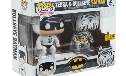 New Hot Topic Exclusive Zebra and Bullseye Batman Pop! Vinyl Set Coming Soon!