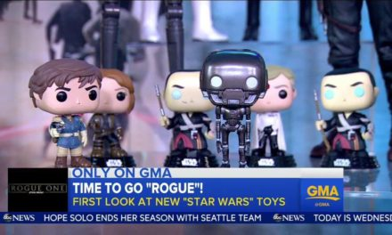 New Star Wars: Rogue One Pop! Vinyls Revealed on Good Morning America